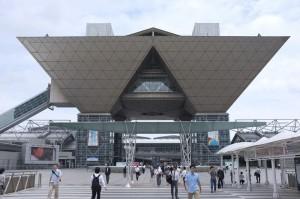「第17回国際電子出版EXPO」の会場は東京ビッグサイト。