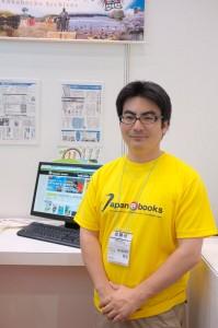 「miyazaki ebooks」の中心メンバーの1人、松浦周一郎さん。