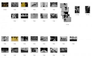 最も簡単なサムネイルの作り方。Macのファインダー上で画像ファイルを並べ替えて、 [ファイル名=ページ番号] にしてしまいます。
