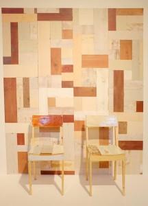 Piet Hein Eek(オランダ) 木の廃材をデザインで蘇らせた作品。色使いがなかなかステキです。