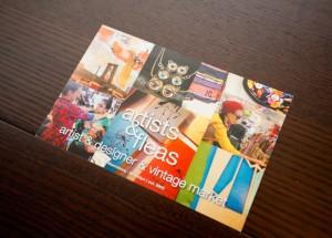 artists & fleas(ショップカード)