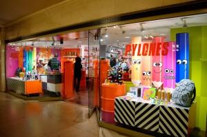 「ピローヌ」は42丁目、グランド・セントラル・ステーションのモール内(写真)のほか、マンハッタンに2カ所出店しています。