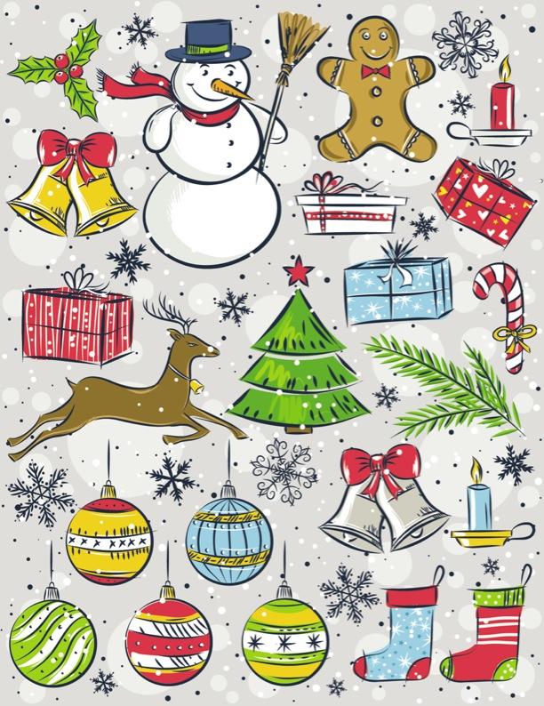 無料で手に入るクリスマスのイラスト素材まとめ インスピ