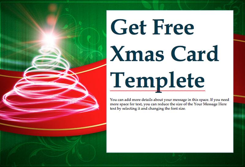 ワードで作れるクリスマスカードや招待状の無料テンプレート インスピ