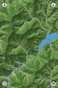 アポイ岳ジオパークの鳥瞰図