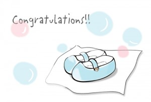 WordやPowerpointでかわいい出産祝いカードが作れるテンプレート ...