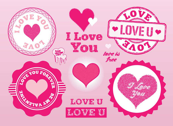 Love-Stamps-Vectors