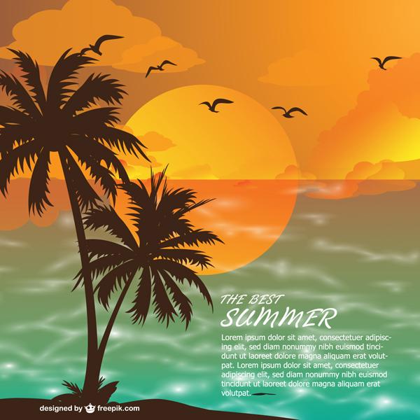 summer vector 13