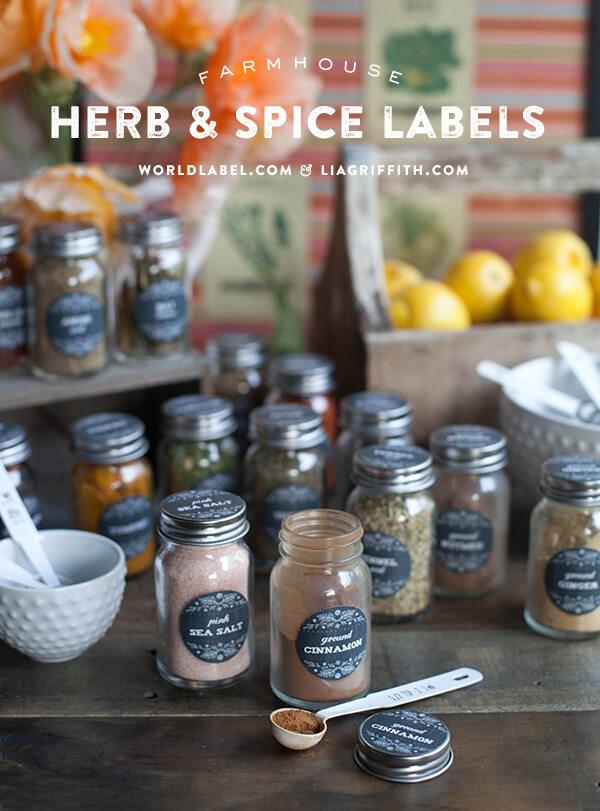 World_Label_Spice_Jar_Labels