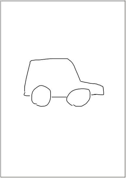 これは、イラストなどを自分で描けないクリエイターにとって便利な使い方ですが、簡単に描いたラフ画像で検索して、同じような形状や構図の素材を探す方法です。